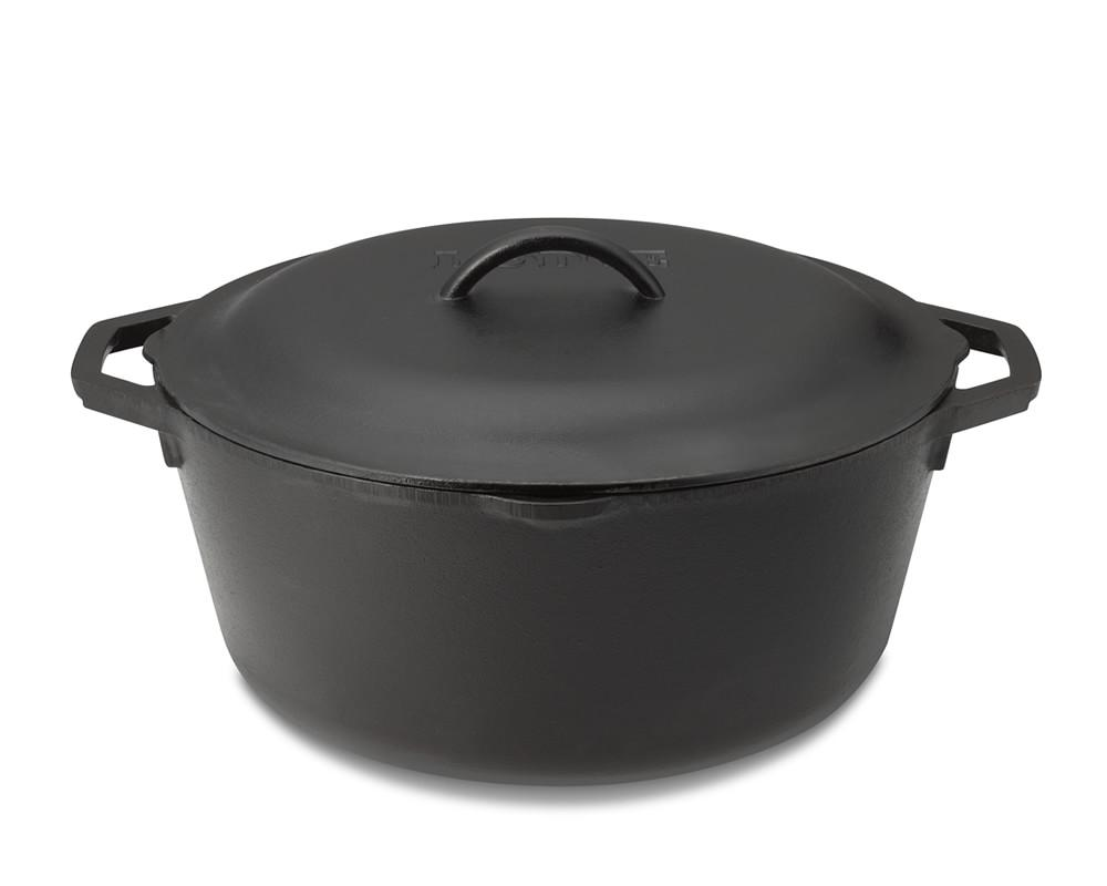 Lodge Cast Iron Dutch Oven, 4.7 L