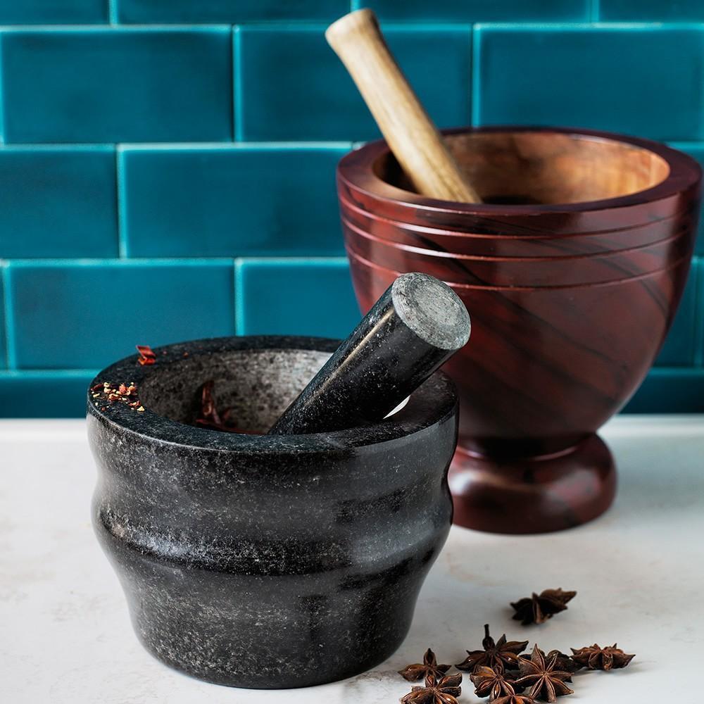 Cole & Mason Granite Mortar & Pestle, 18cm