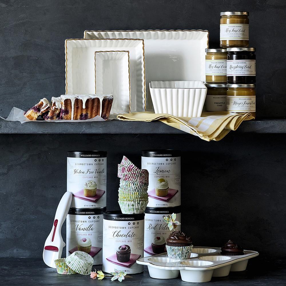 Williams Sonoma Georgetown Cupcake Mix, Gluten-Free Vanilla