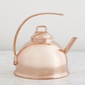 Mauviel Teakettle, Copper