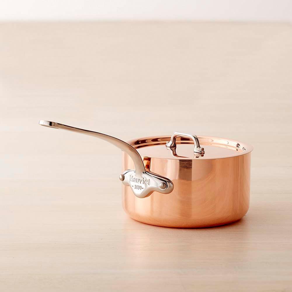 Mauviel Copper Triply Saucepan, 1.6 L