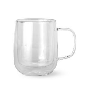 Double-Wall Glass Coffee Mug