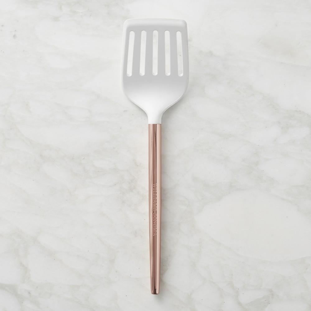 Silicone Turner with Copper Handle