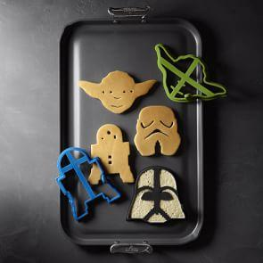 Williams Sonoma Star Wars™ Pancake Moulds, Set of 4