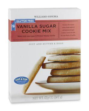 Williams Sonoma Gluten-Free Vanilla Sugar Cookie Mix