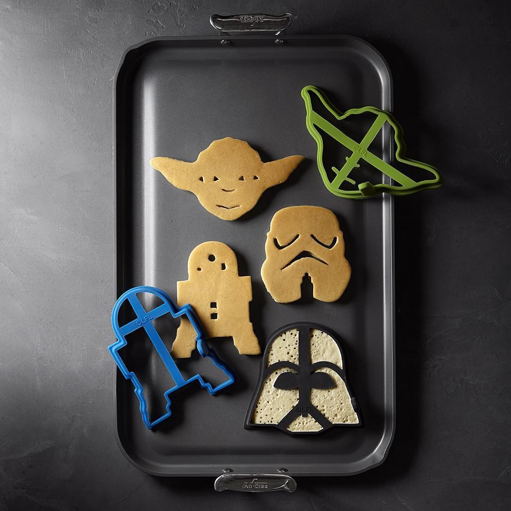 Williams Sonoma Star Wars™ Pancake Moulds, Set of 4
