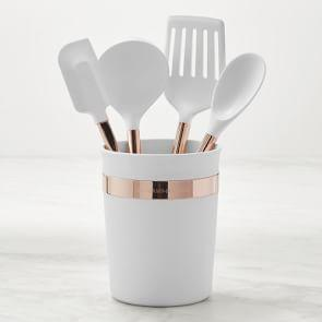 Silicone with Copper Handles 5-Piece Tool Set