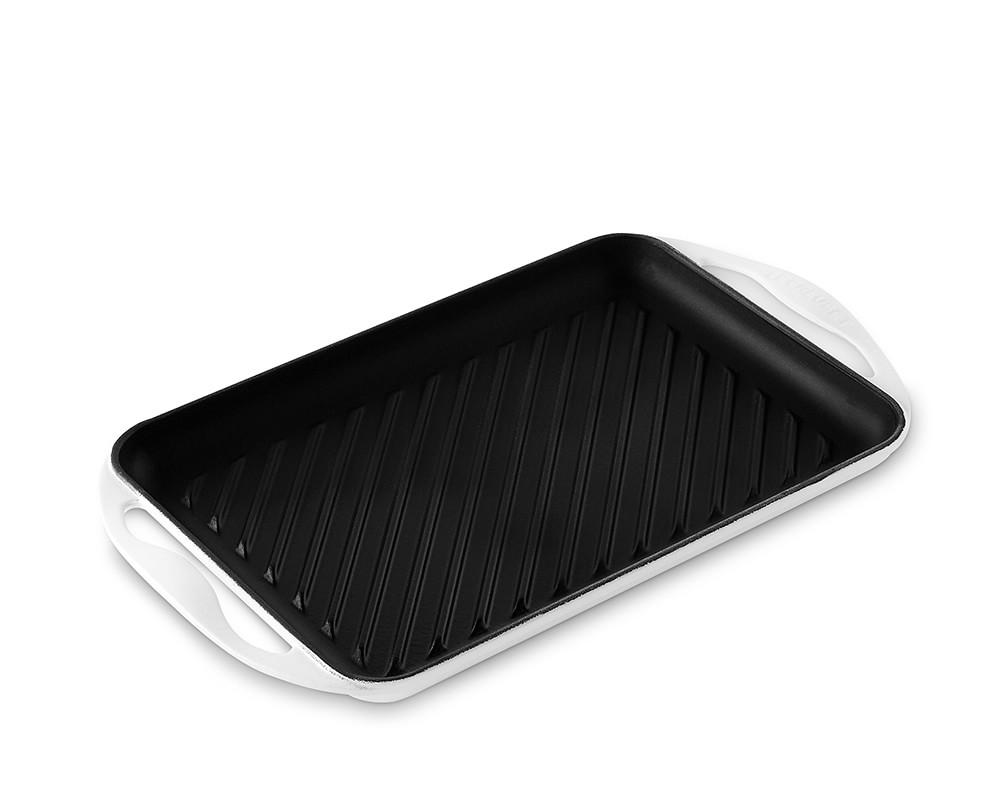 Le Creuset Cast-Iron Rectangular Matte Skinny Grill