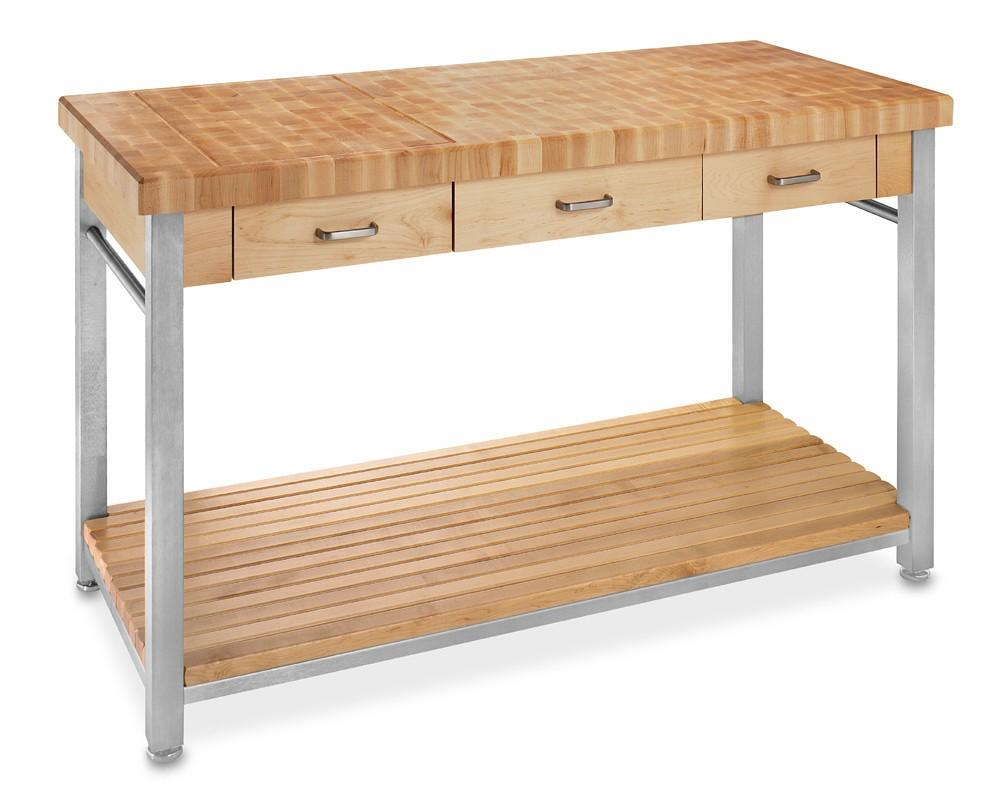 John Boos End Grain Butcher S Block Workbench 152cm
