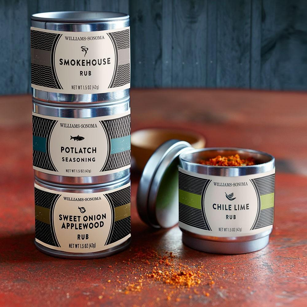 Williams Sonoma Mini Rub Set, Classic