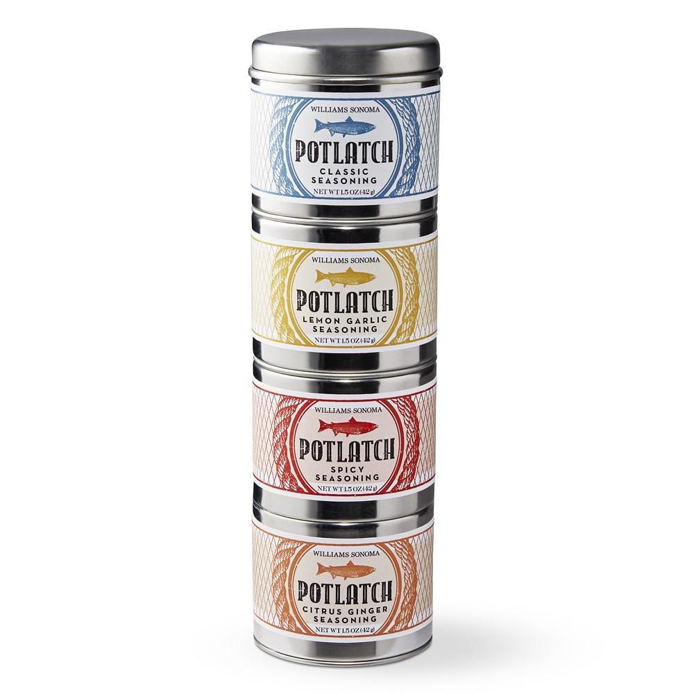 Williams Sonoma Mini Potlatch Rub Set