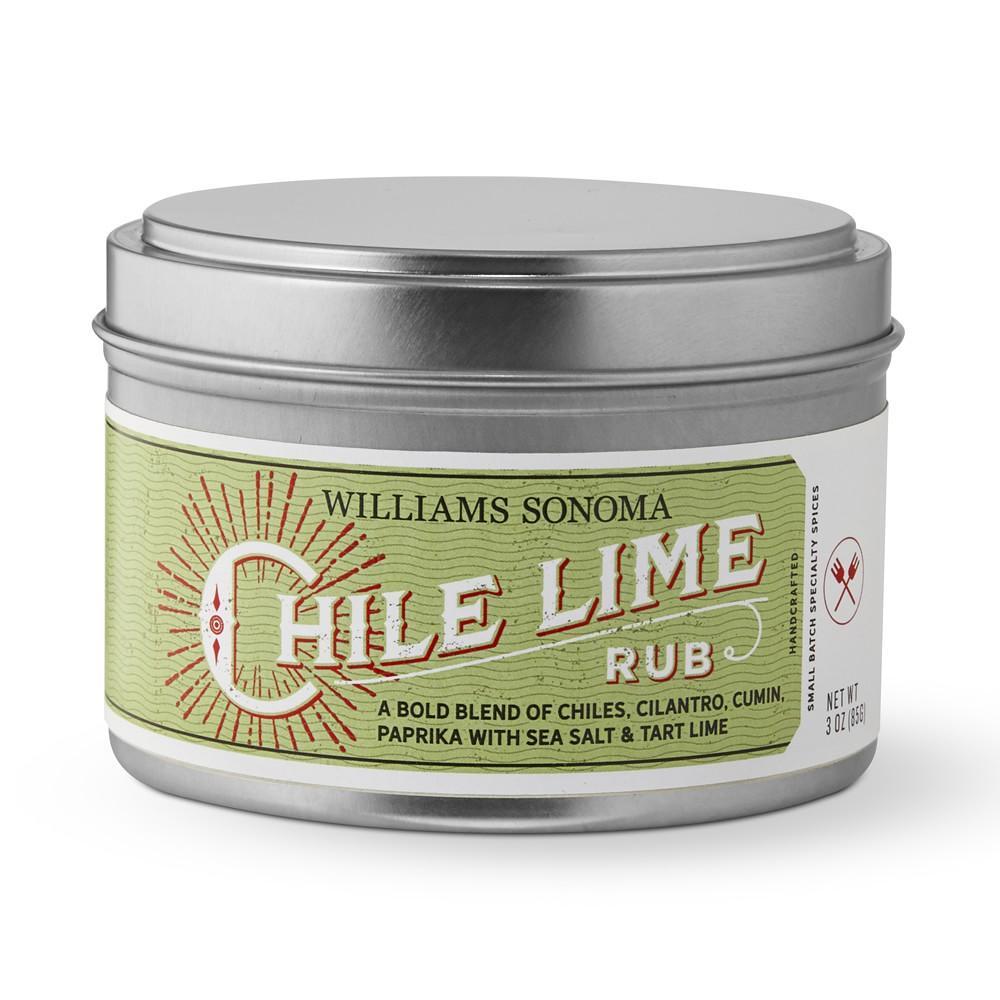 Williams Sonoma Rub, Chile Lime