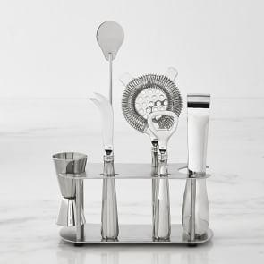 Williams Sonoma Bar Tool Set with Stand