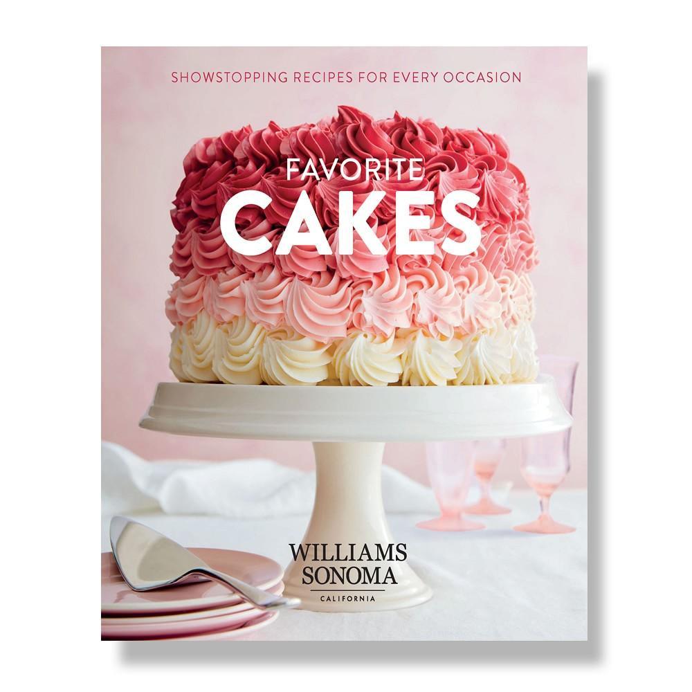 Williams Sonoma TK Favorite Cakes Cookbook