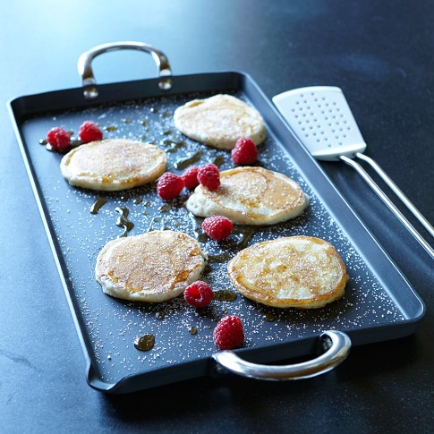 Williams Sonoma Open Kitchen Nonstick Double-Burner Griddle