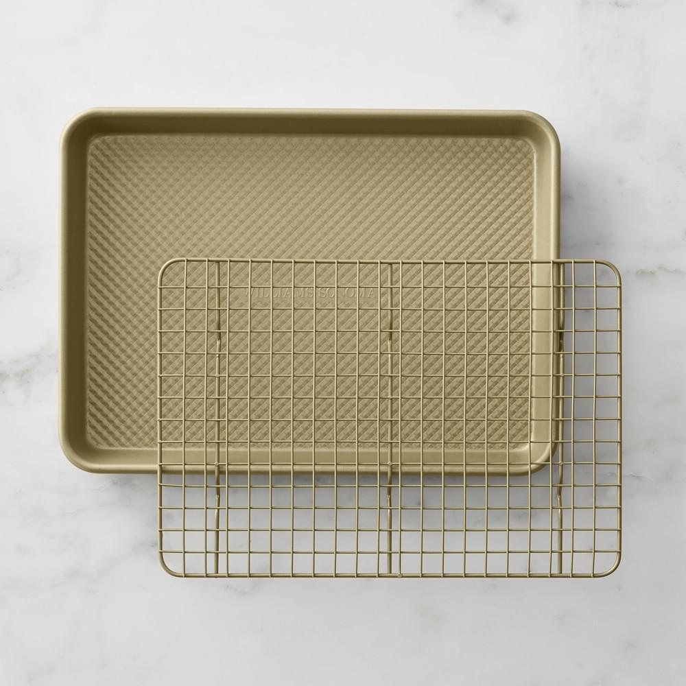 Goldtouch® Nonstick Quarter Sheet Pan with Baking Rack