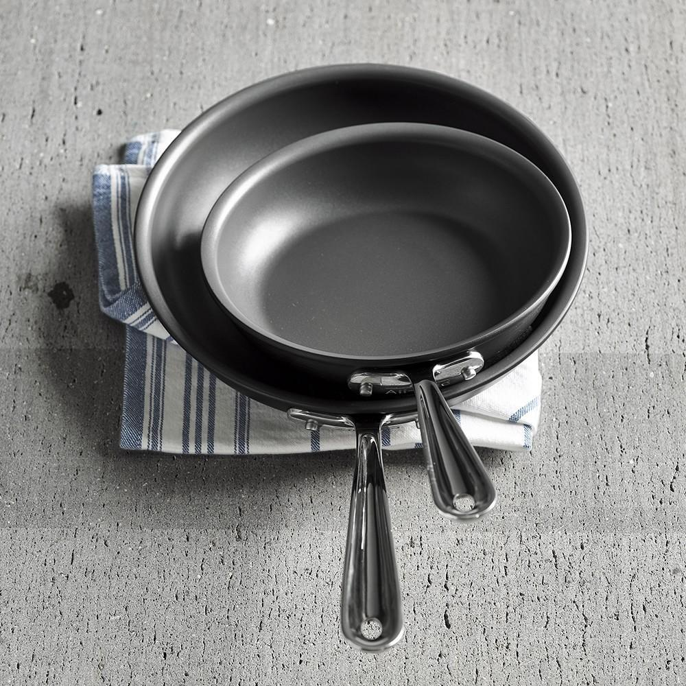 All-Clad NS1 Nonstick Induction Fry Pan, Set of 2