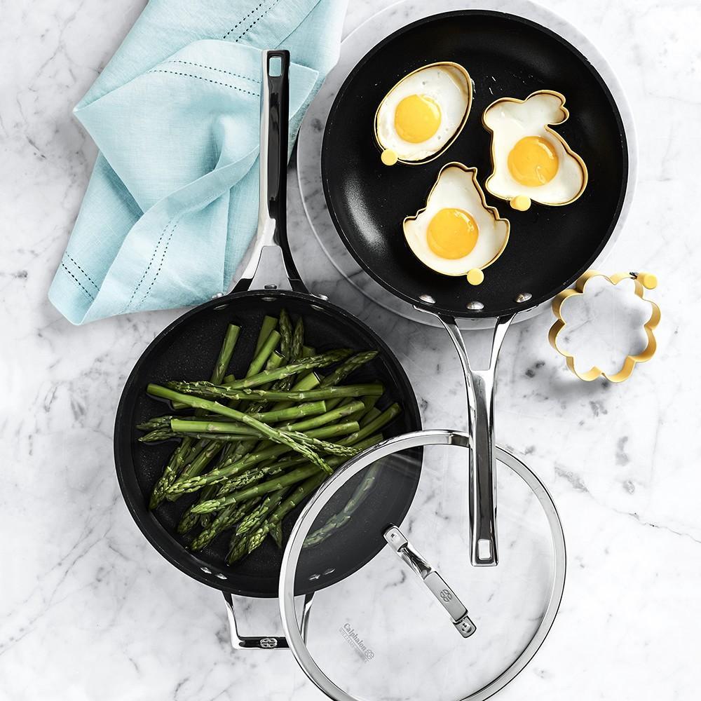 Calphalon Elite Nonstick 3 Piece Frying Pan Amp Saute Pan