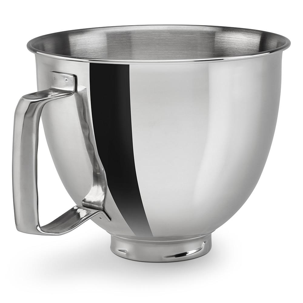 KitchenAid® 4.8 L Stainless Steel Mixing Bowl with Handle