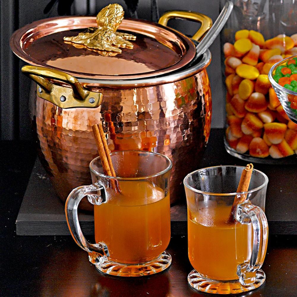 Ruffoni Copper Artichoke Handled Stock Pots