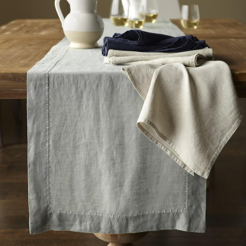 For that reason, avoid washing linen clothes in hot water and opt for either warm or cold water; if your linen is a vibrant or dark color, stick with cold to avoid fading.