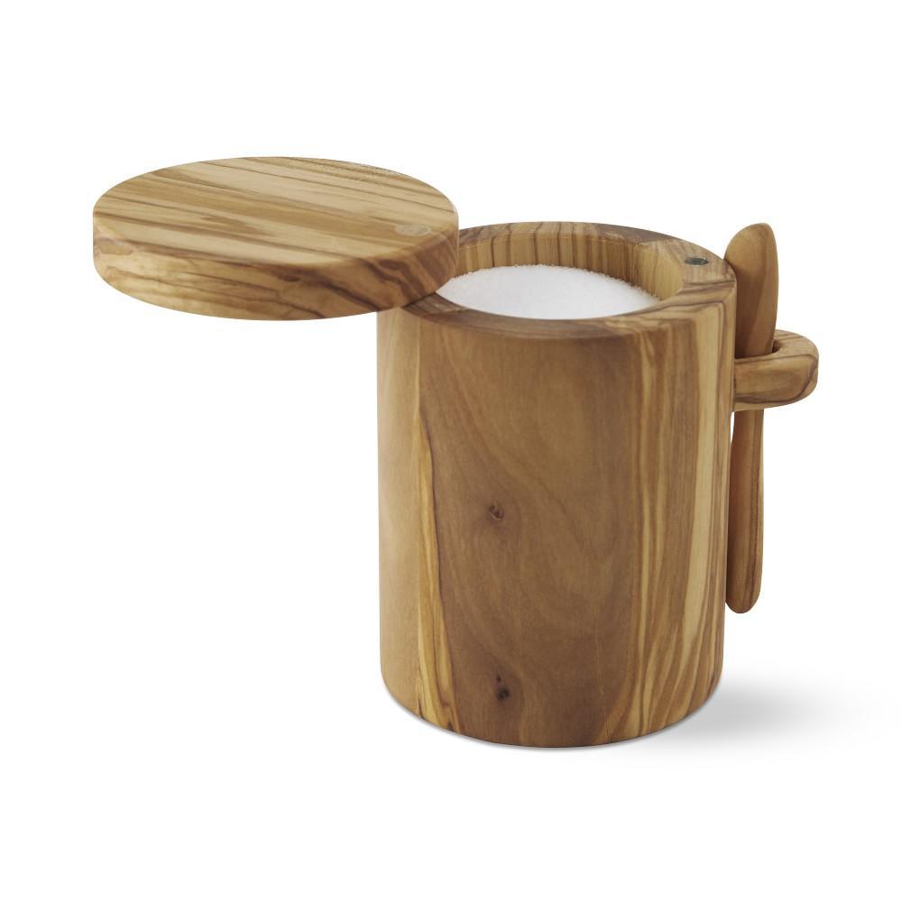 Olivewood Salt Box