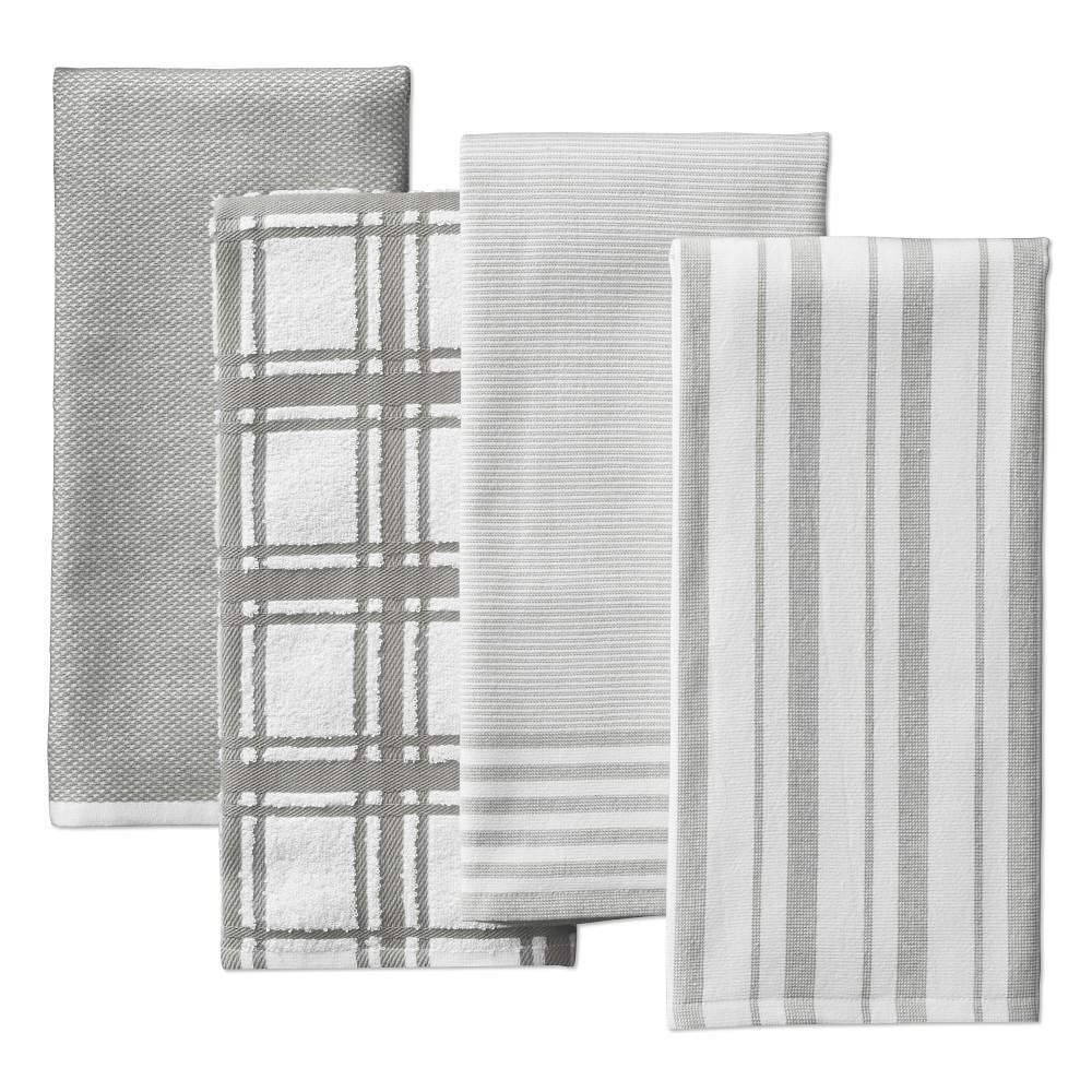 Williams Sonoma Multi-Pack Absorbent Tea Towels, Drizzle