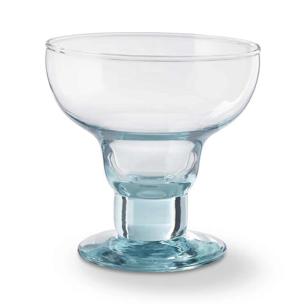 Williams Sonoma Nueva Recycled Glass Margarita Glass