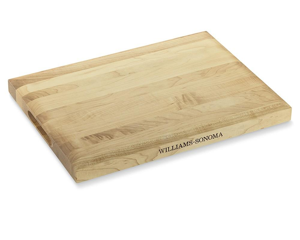 Williams Sonoma Edge-Grain Chopping Board