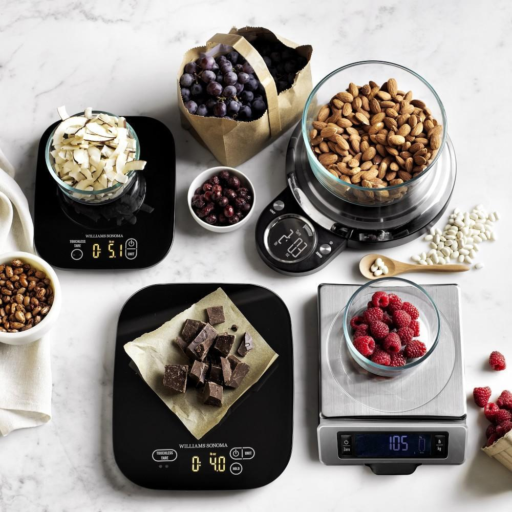Williams Sonoma Touchless Tare Waterproof Scale