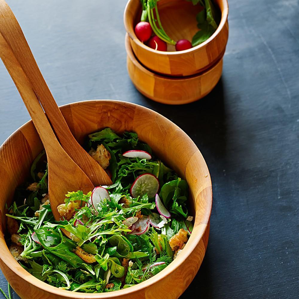 Tulip Salad Bowls & Salad Hands
