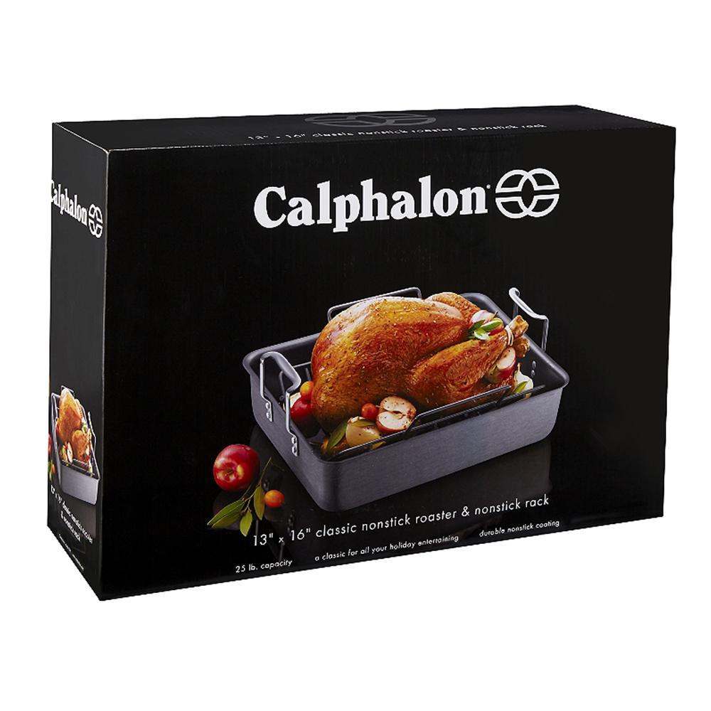 Calphalon Classic Nonstick Roaster with Rack
