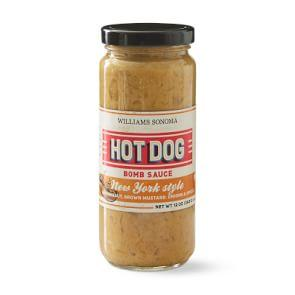 Williams Sonoma Hot Dog Bomb Sauce, New York Dog