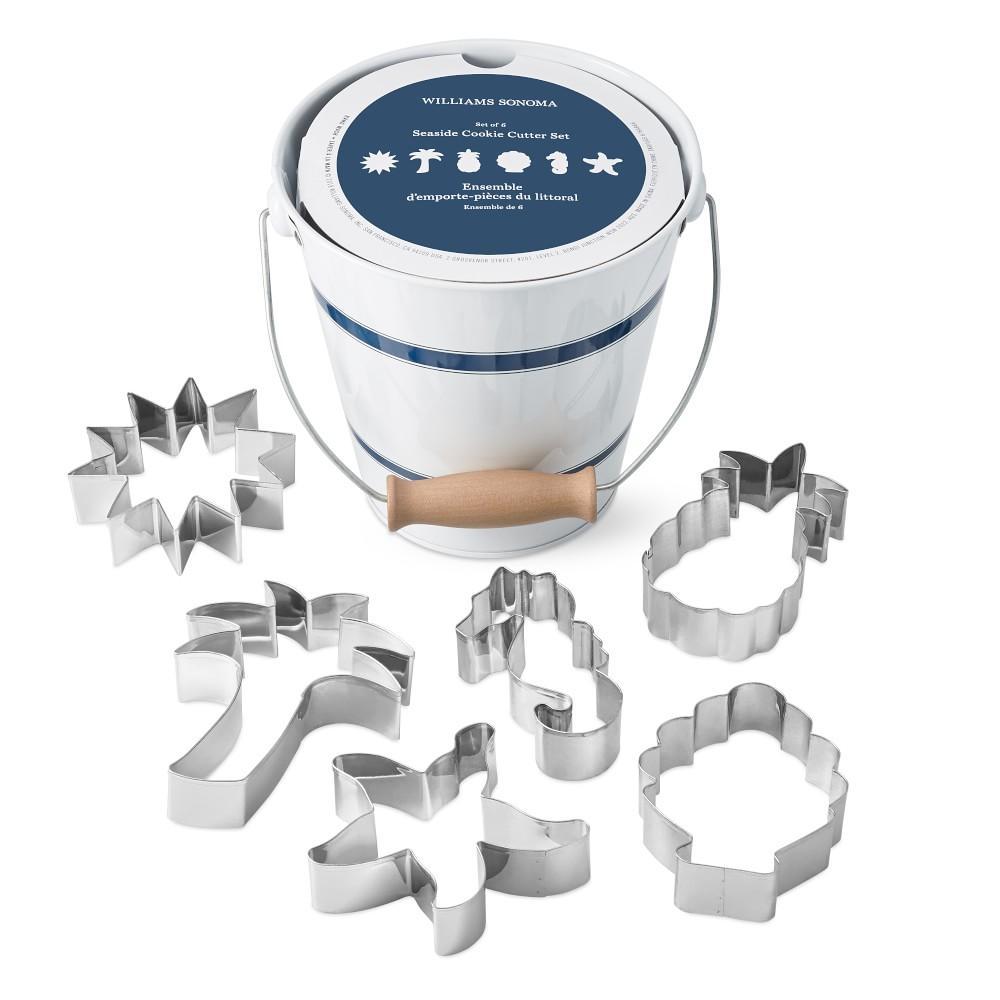 Seaside Cookie-Cutter Bucket Set