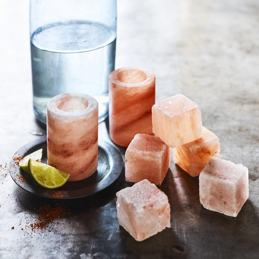 Himalayan Salt Ice Cubes, Set of 10