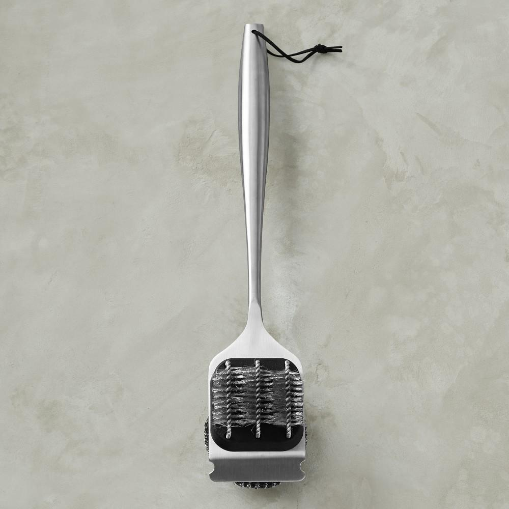 Williams Sonoma Stainless-Steel Handled BBQ Cleaning Brush
