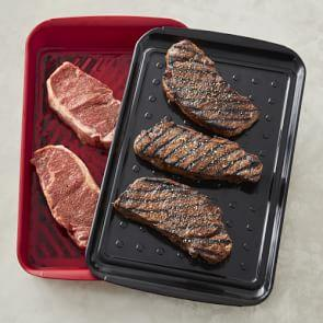 Williams Sonoma BBQ Marinade Tray