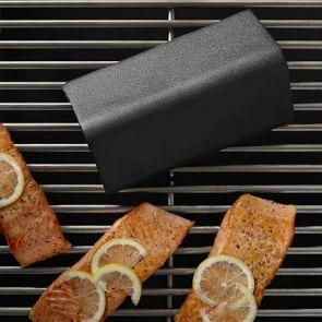 Williams Sonoma V-Shaped Cast-Iron Smoker Box