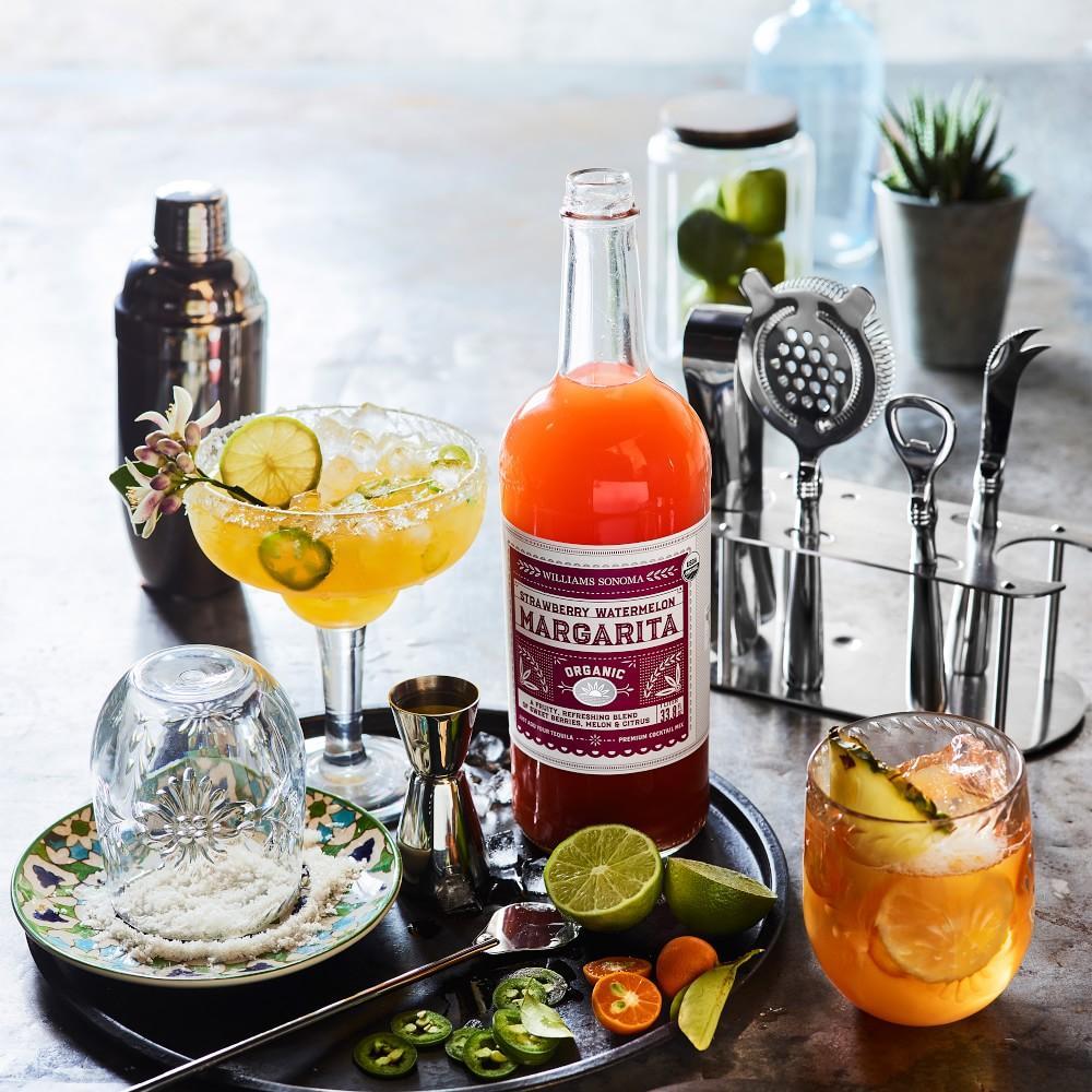Williams Sonoma Organic Margarita Mix, Strawberry Watermelon