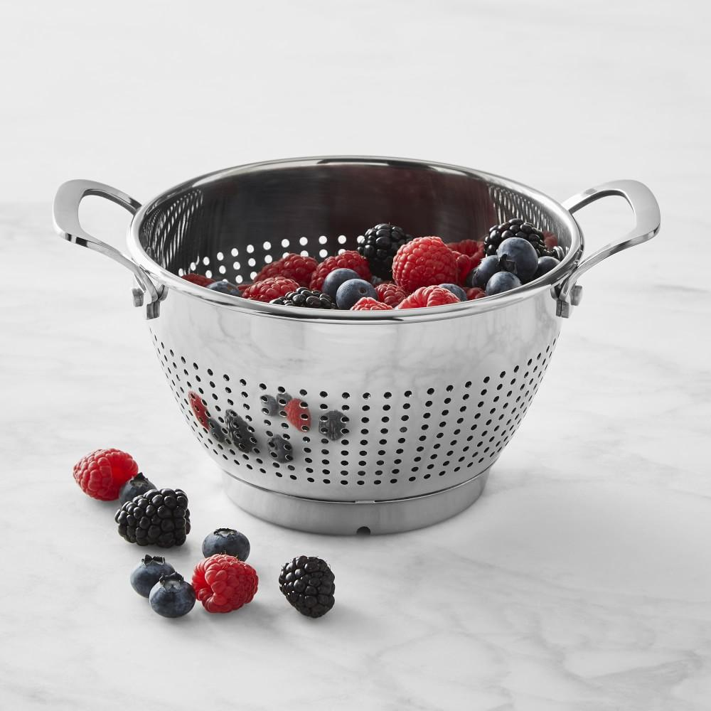 Williams Sonoma Stainless-Steel Berry Colander