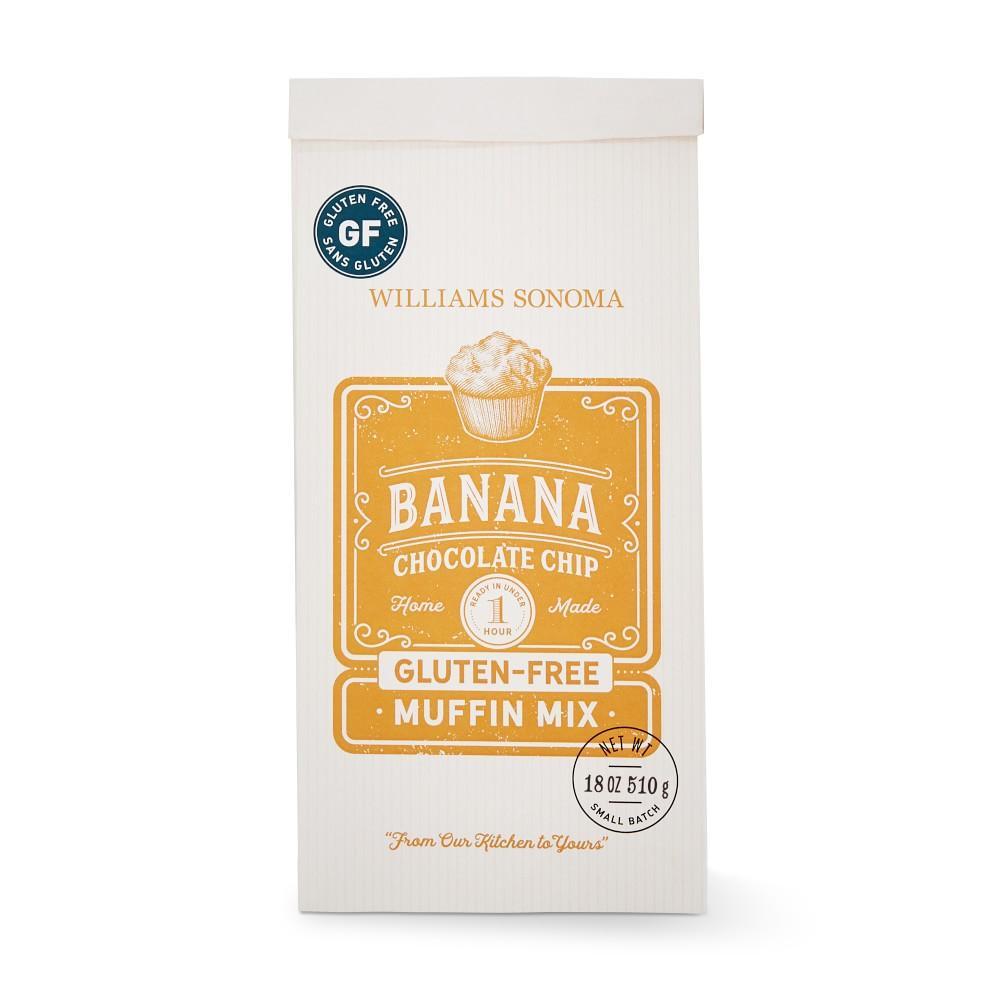 Williams Sonoma Muffin Mix, Gluten-Free Banana Chocolate Chip