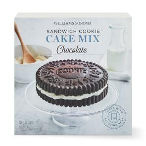 Williams Sonoma Chocolate Sandwich Cookie Cake Mix