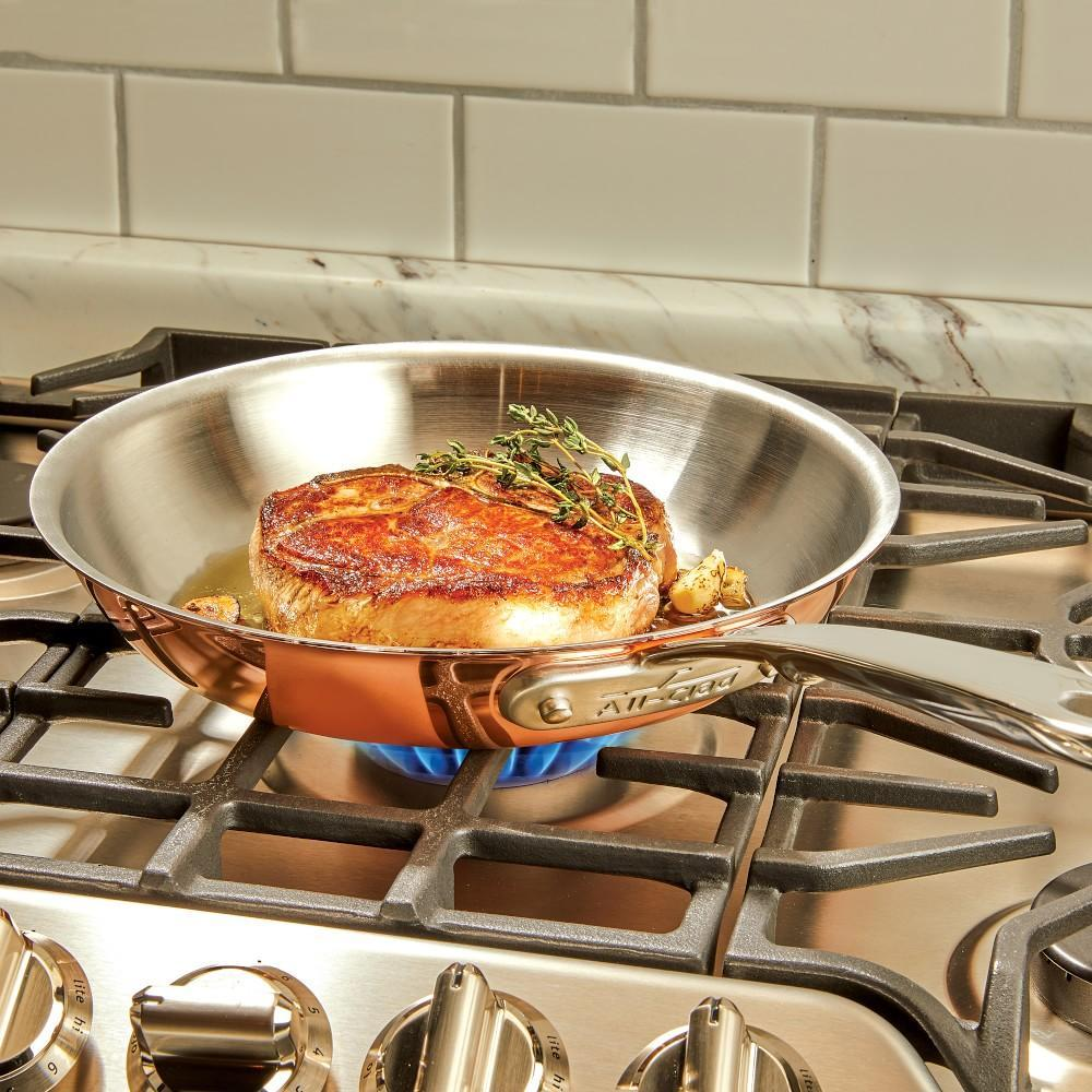All-Clad C4 Copper Frying Pan