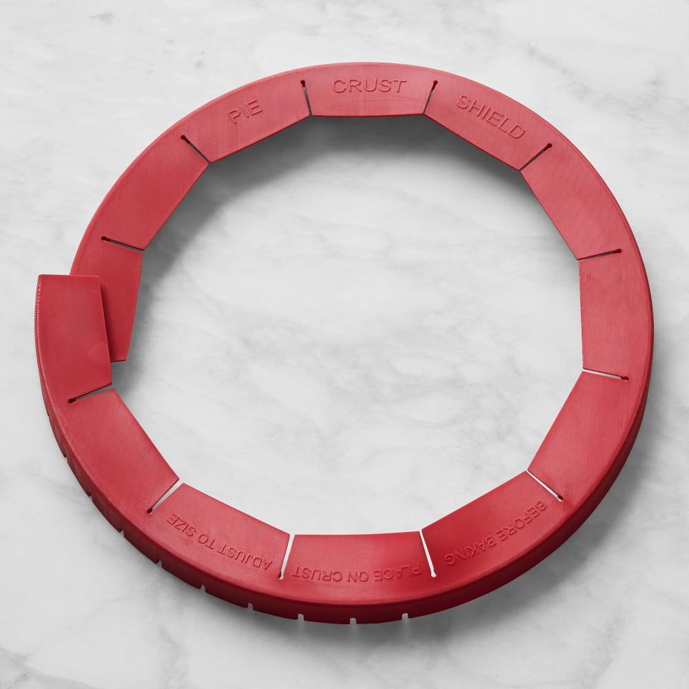Williams Sonoma Silicone Adjustable Pie Crust Shield