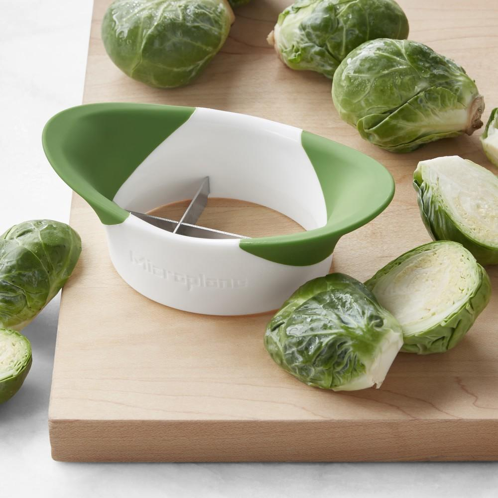 Microplane® Brussel Sprout Halve & Trim