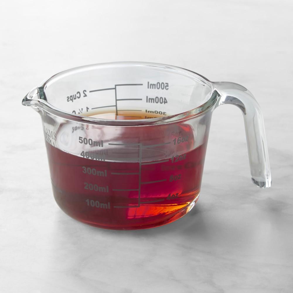 Williams Sonoma Glass Measuring Cups