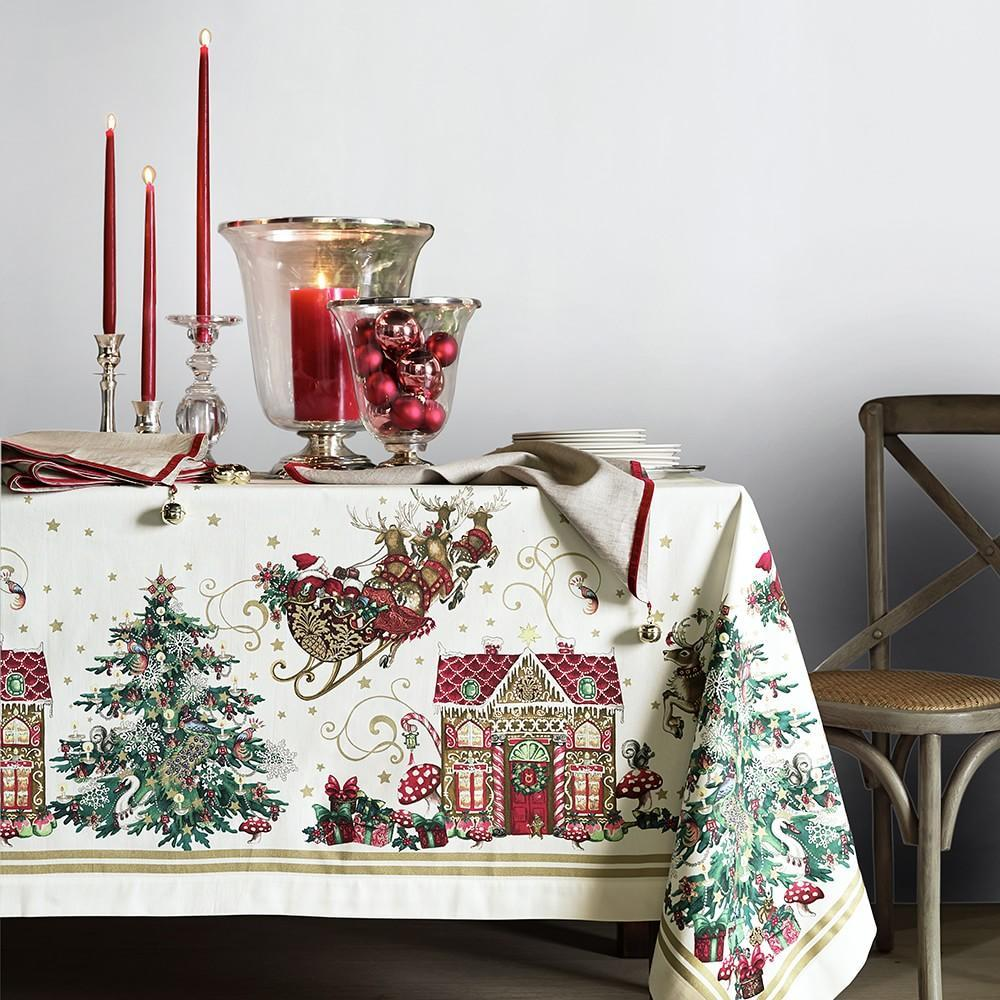 Twas the Night Before Christmas Tablecloth