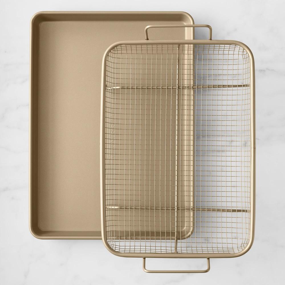 Williams Sonoma Goldtouch® Non-Stick Half-Sheet Roasting Set