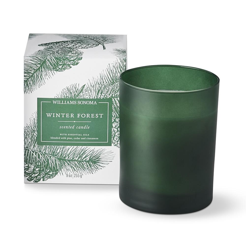Williams Sonoma Winter Forest Candle