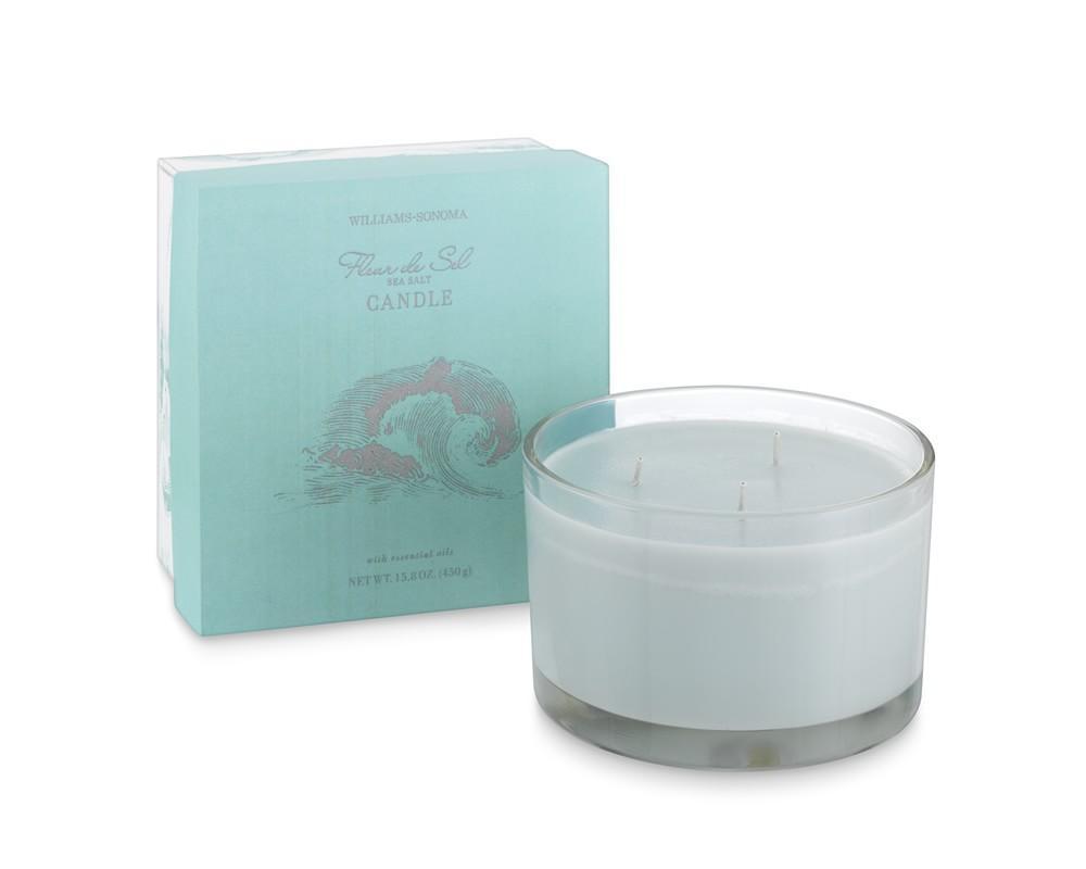 Williams Sonoma Essential Oils Triple-Wick Candle, Fleur De Sel